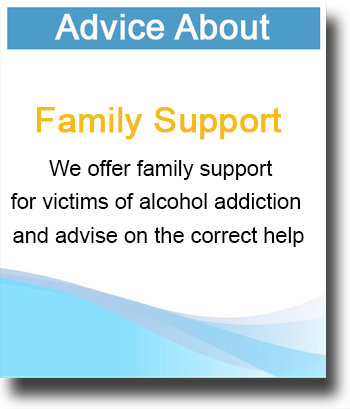 advice about alcohol addiction family support